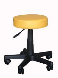 Gurulós kozmetikai szék NAPSÁRGA